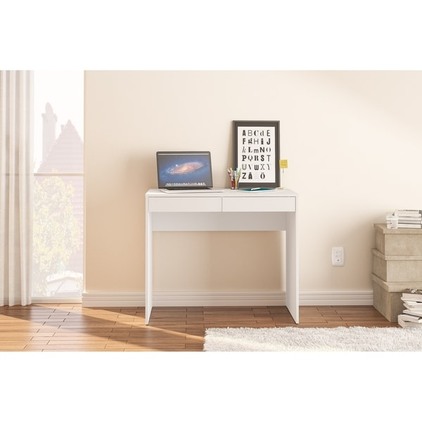 Shop Polifurniture Tijuca 2 Drawer Compact Student Desk