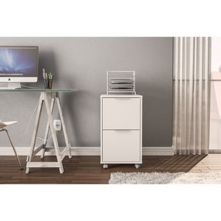 Polifurniture Durban 2 Drawer File Cabinet (2 options available)