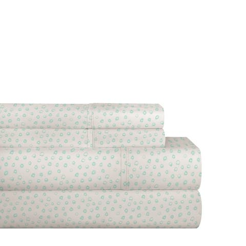 Pointehaven 200TC Cotton Percale Prints and Solids Bed Sheet Set