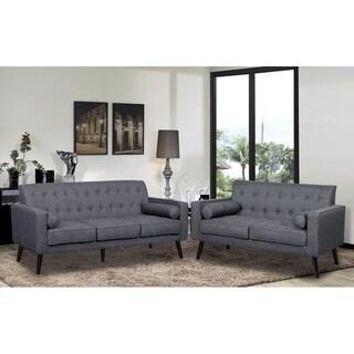 Valadez Mid Century 2 Piece Living Room Set