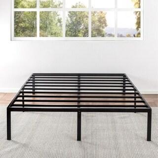 Queen Size 14 Inch Metal Platform Bed Frame - Crown Comfort