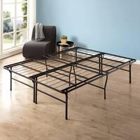 King Size 18 Inch Metal Platform Bed Frame - Crown Comfort