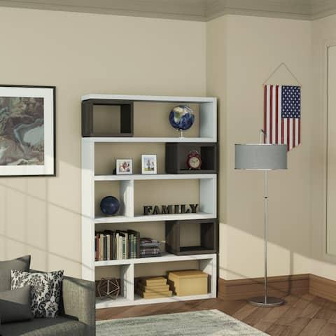 Ventone Contemporary Room Divider/ Bookcase by FOA