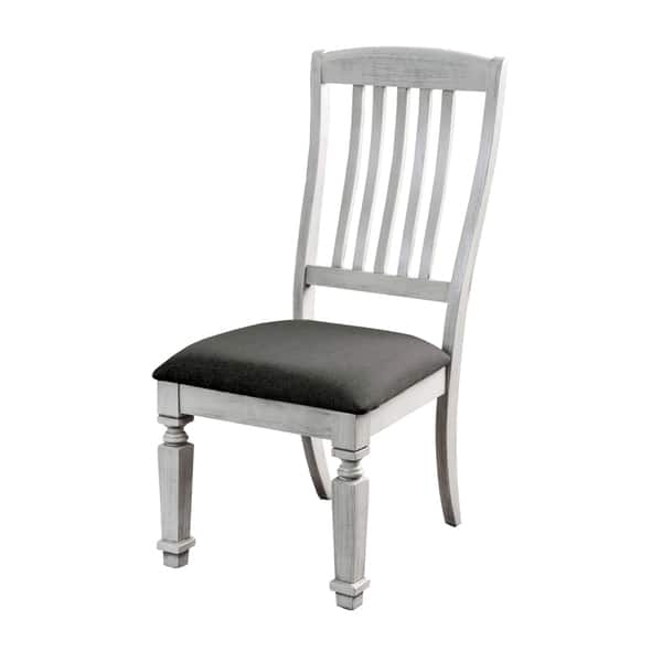 Prime Shop Tyler Rustic Antique White Dining Chair Set Of 2 By Ibusinesslaw Wood Chair Design Ideas Ibusinesslaworg