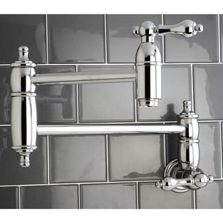 Kitchen 'Pot Filler' Chrome-plated Faucet