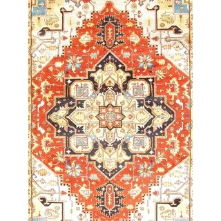 "Pasargad DC Serapi Hand-Knotted Rug - 9'1"" X 11'10"""