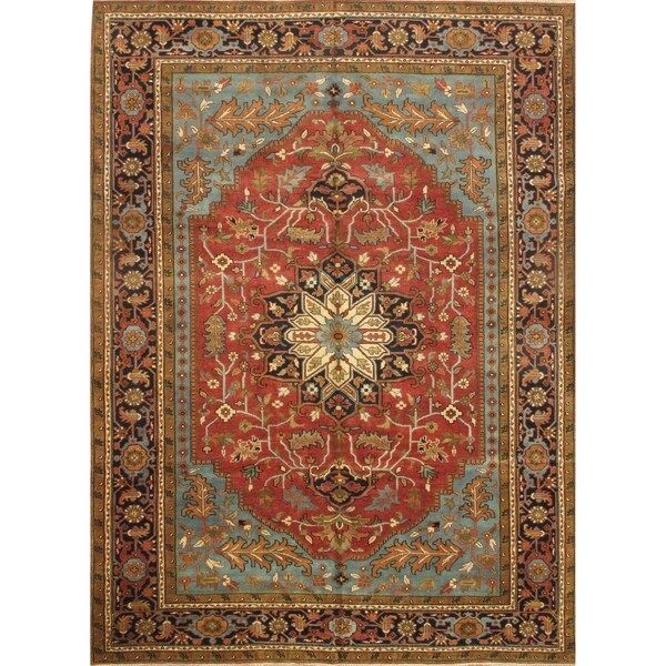 Pasargad DC Serapi Hand-Knotted Rug - 10' x 14'