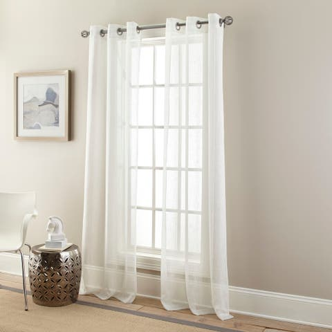 Nanshing Glitter Curtain Panel Pair