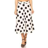 Women's Polka Dot Larger Pattern Skirt