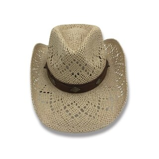 Access Headwear Women's Old Stone Lacey Women's Cowboy Drifter Style Hat (4 Colors Available)