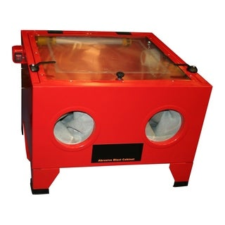 Offex Traditional Metal Abrasive Blast Cabinet