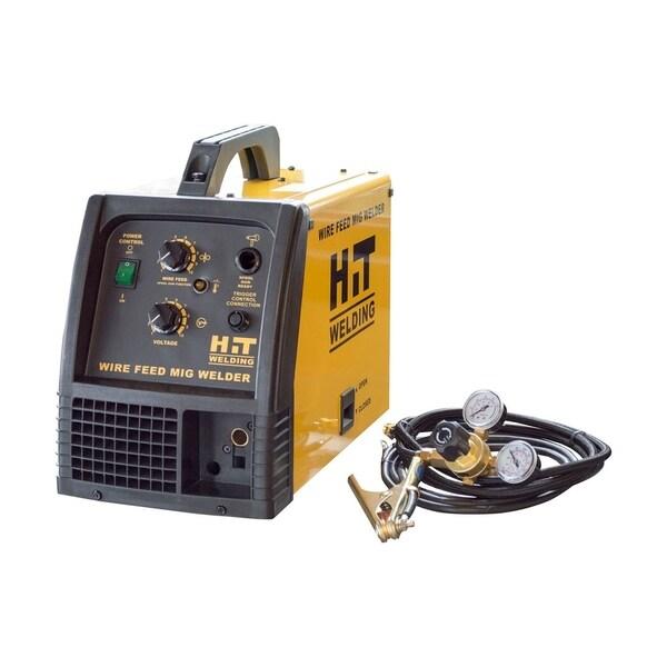 HIT 140 Amp MIG 120V Welder - Black/YELLOW