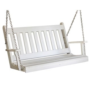 5' Poly Traditional English Porch Swing