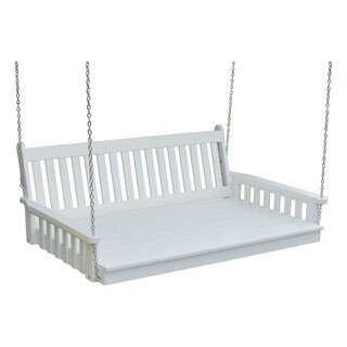 5 ft. Poly Traditional English Swing Bed