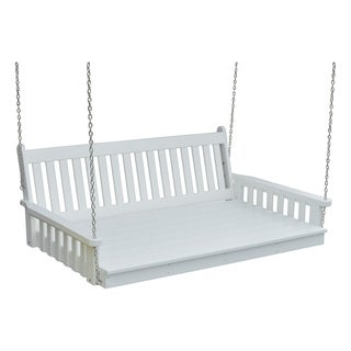6 ft. Poly Traditional English Swing Bed