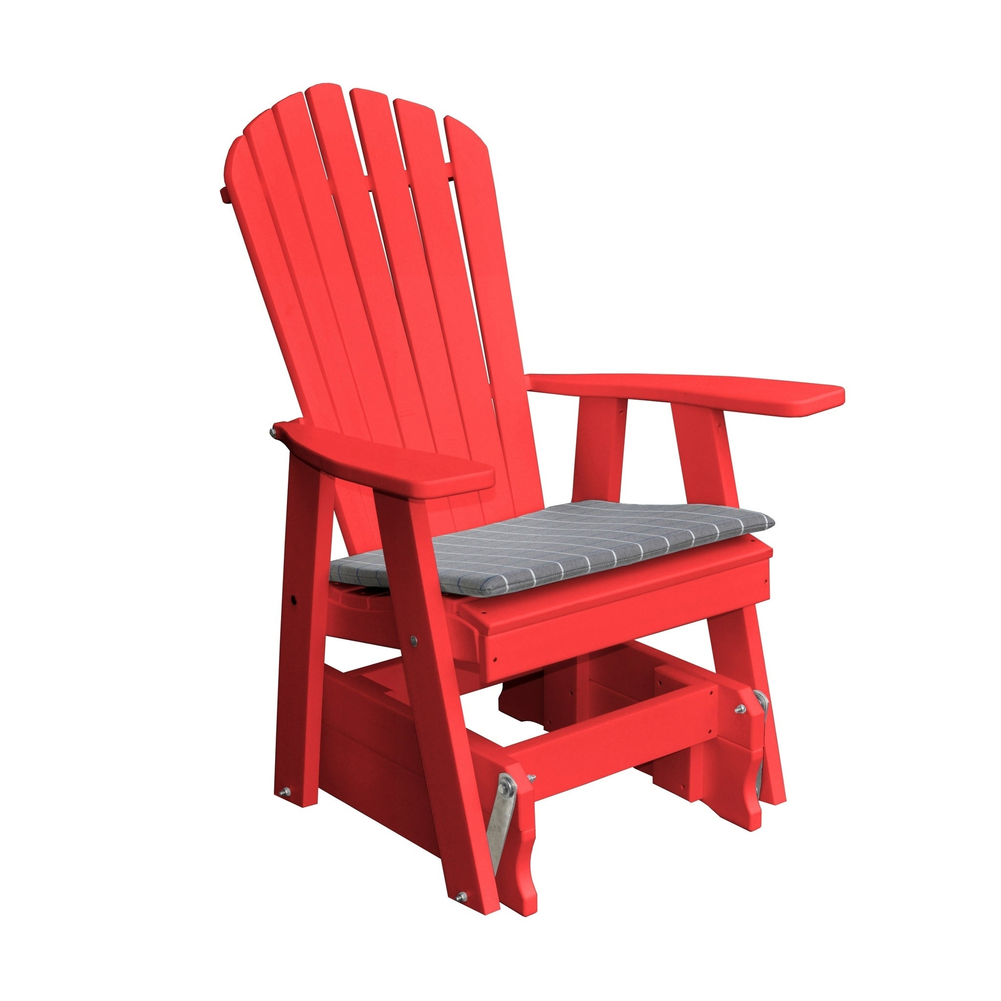 huge discount a1db9 73c9a Outdoor Adirondack Style Gliding Chair - Recycled Plastic