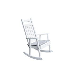 Poly Classic Porch Rocker Chair