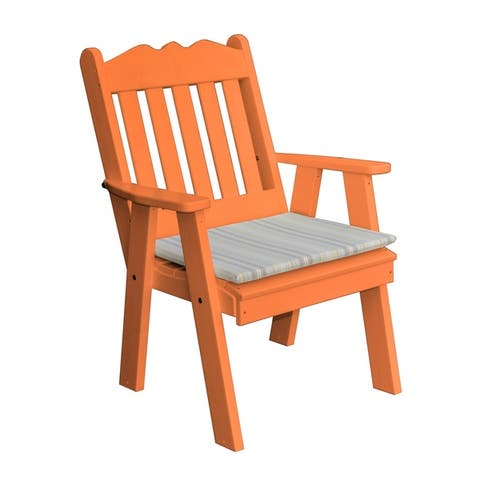Royal English Chair in Poly Lumber