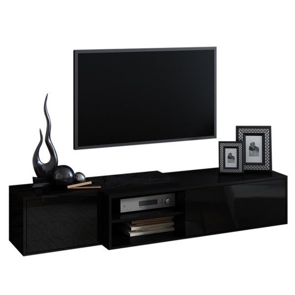 Shop Sigma 1 High Gloss Tv Stand On Sale Free Shipping Today