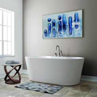 """A&E Bath and Shower Sorel 62"""" Freestanding Tub With faucet"""