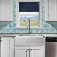 Highpoint Collection Fireclay 33-inch Double Bowl Fireclay Farmhouse Sink