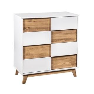 Mid- Century Rustic Modern 4-Drawer Livonia 31.49 Inch Wide Dresser