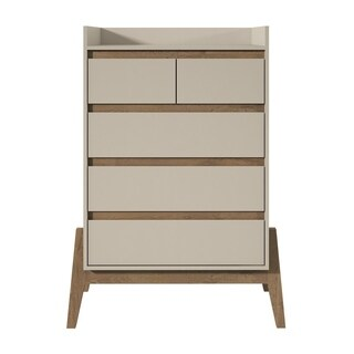Essence 48.23 Inch Tall Dresser with 5 Full Extension Drawers