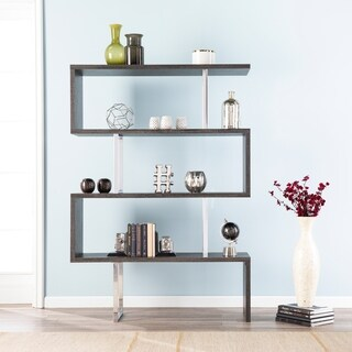 Strick & Bolton Tayali Assymetric Dark Grey Book Shelf