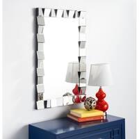 Safavieh Verney Modern 35 x 23-inch Silver Mirror - 35.2' x 1.7' x 23.6'