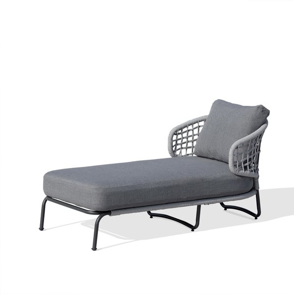 Gentil OVE Decors Indiana Grey Outdoor Lounge Chair