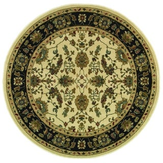 Style Haven Refined Traditional Ivory/Multicolor Area Rug