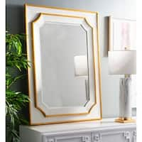 Safavieh Cora Framed 36 x 48-inch Gold Mirror - 36' x 1.3' x 48'