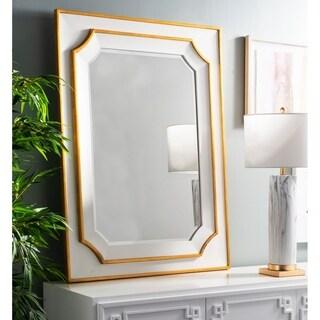 Safavieh Cora Framed 36 x 48-inch Gold Mirror - 36' x 1.3' x 48'