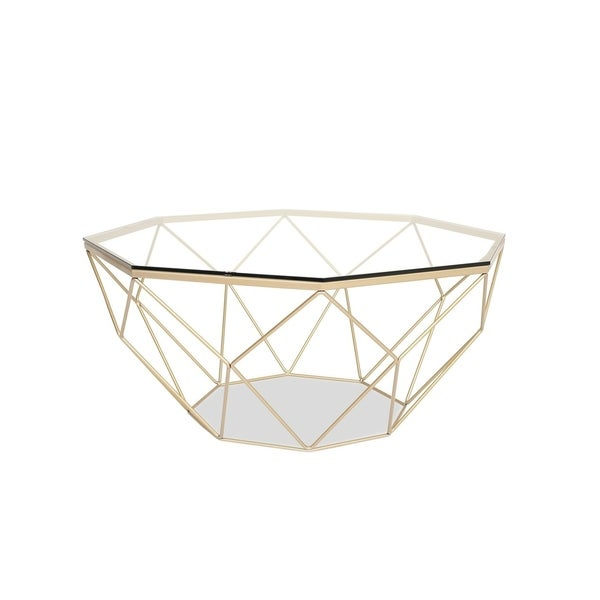 Shop Forden Modern Glass Coffee Table