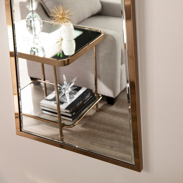 Sarren Champagne Decorative Mirror