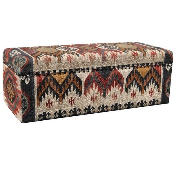 Phenomenal Shop Handmade Herat Oriental Indo Tribal Kilim Upholstered Andrewgaddart Wooden Chair Designs For Living Room Andrewgaddartcom