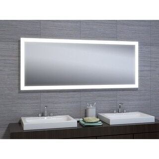 "Angelina 30""x60"" LED Mirror with Motion Sensor"