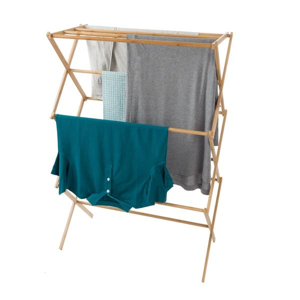 Bamboo Clothes Drying Rack