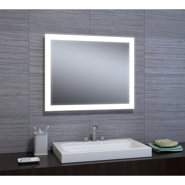 "Angelina 24""x30"" LED Mirror with Motion Sensor - 24"" X 30"" X 2"""