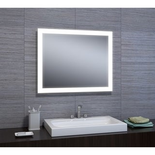 "Angelina 24""x30"" LED Mirror with Motion Sensor"