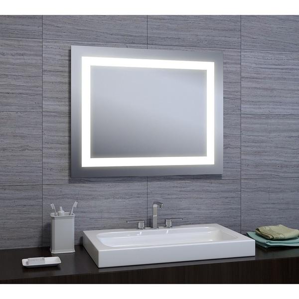 "Monica 24""x30"" LED Mirror with Motion Sensor"