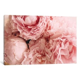 """iCanvas """"Blush Peonies"""" by Chelsea Victoria Canvas Print"""