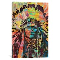 "iCanvas ""Native American II"" by Dean Russo Canvas Print"