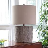 Maris Driftwood Stump Table Lamp