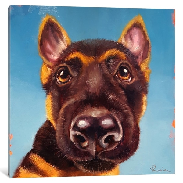 """iCanvas """"Follow Your Nose I"""" by Lucia Heffernan Canvas Print"""