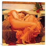 """iCanvas """"Flaming June"""" by Frederick Leighton Canvas Print"""