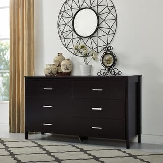 Buy Modern & Contemporary Dressers & Chests Online at Overstock.com on antique furniture, frosted glass drawer dressers, dimensions of dressers, sizes of dressers, names of dressers, simple dressers, colors of dressers, glass handles for dressers, cabriole leg, parts of dressers, bedroom furniture,