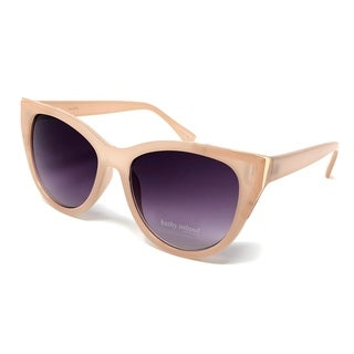 Kathy Ireland Women's Milky Blush with Rose gold frame Sunglasses