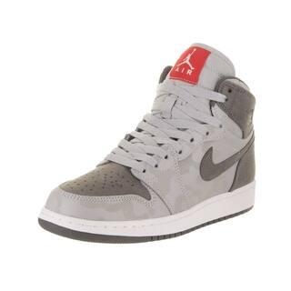 5c67fd4c1c55 Nike Jordan Kids Air Jordan 1 Retro High Prem BG Basketball Shoe