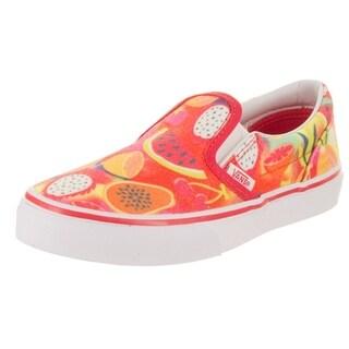 Vans Kids Classic Slip-On (Glitter Fruits) Casual Shoe